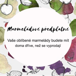 Marmeládové předplatné 6-24 skleniček